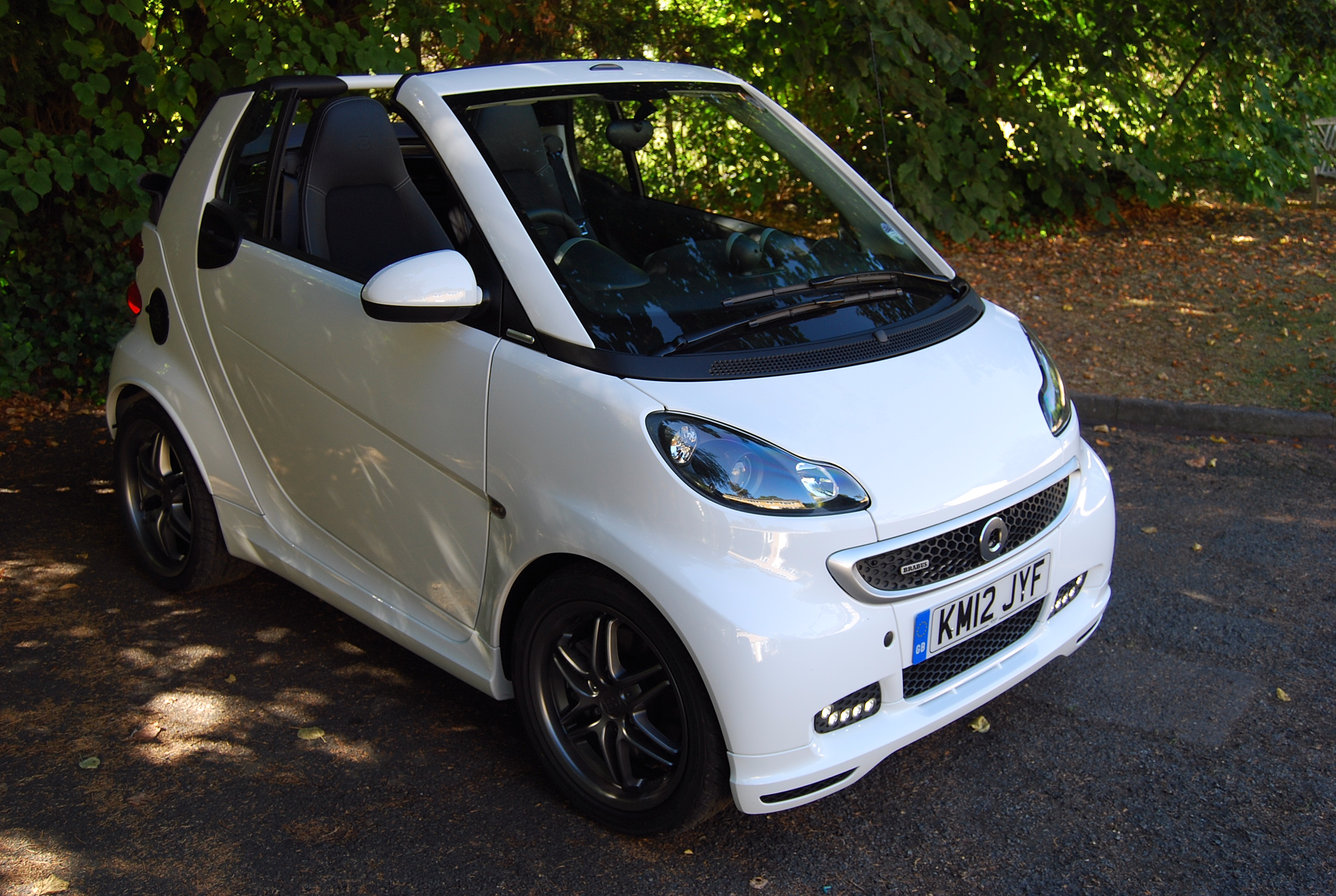 Smart Fortwo Brabus Cabrio Review Driving Torque