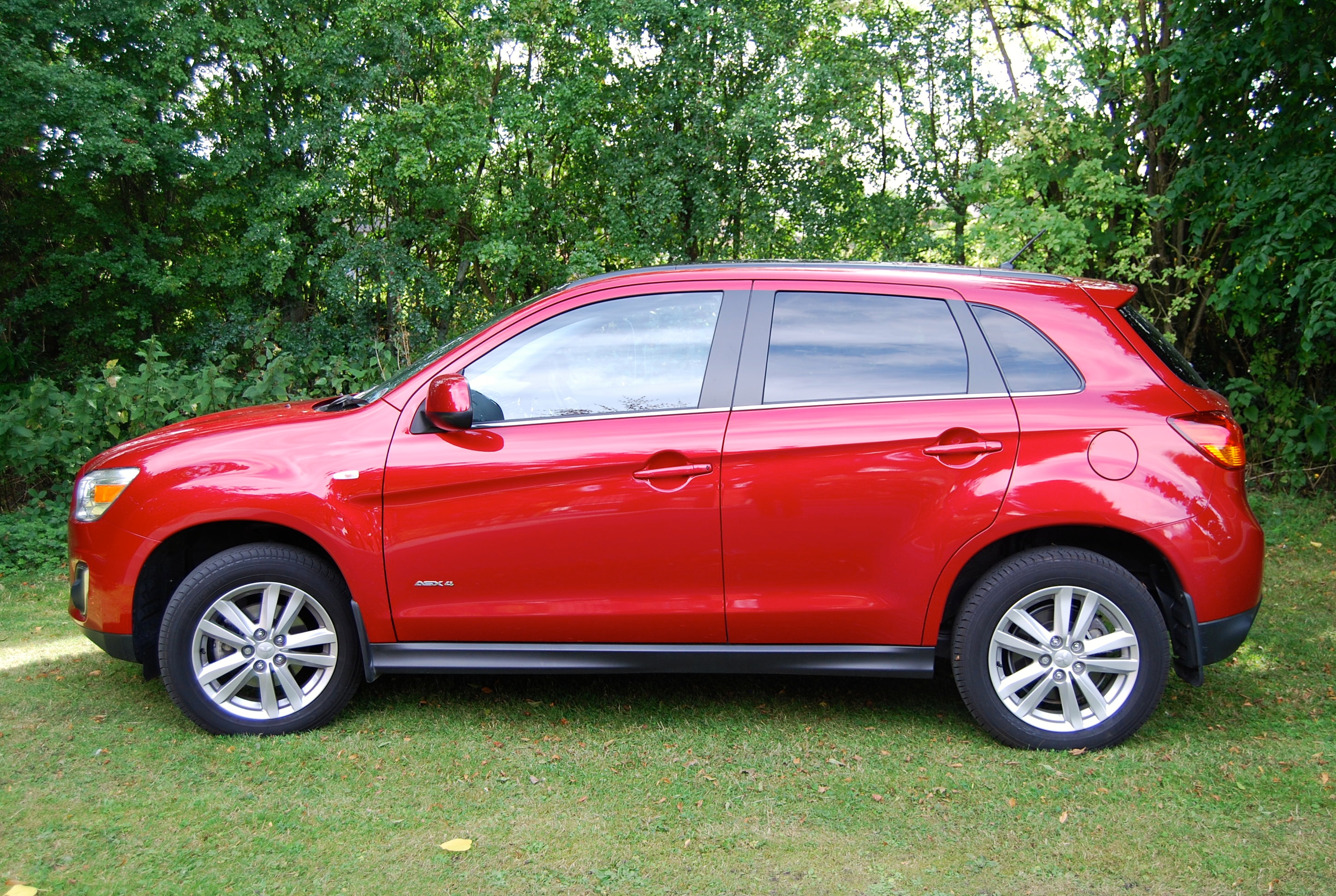 mitsubishi asx 4 diesel 4wd driven and reviewed. Black Bedroom Furniture Sets. Home Design Ideas