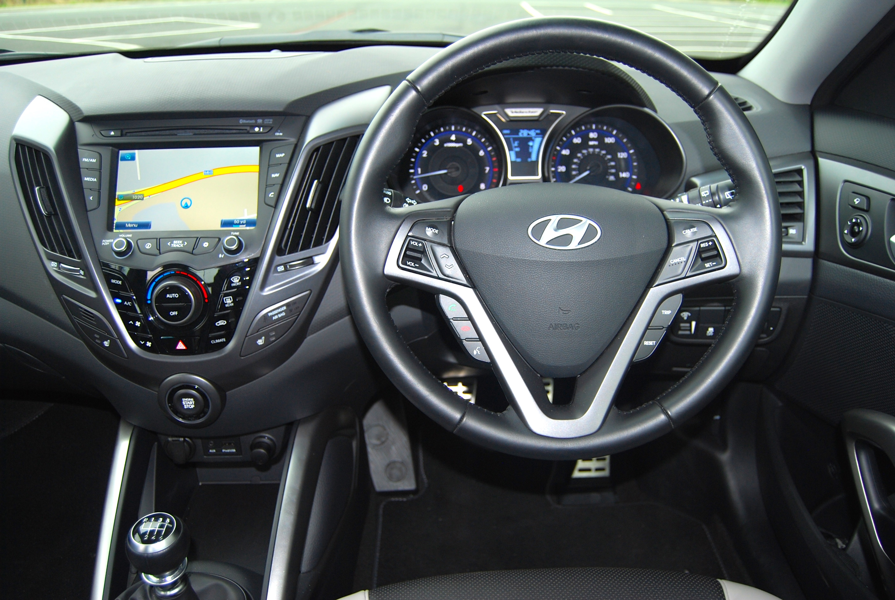 Hyundai veloster turbo driven and reviewed for Hyundai veloster interior